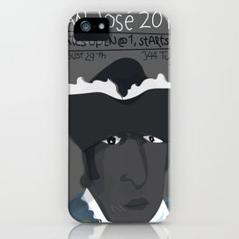 August 29th GFALA Cavaleiro Poster grey iPhone Case