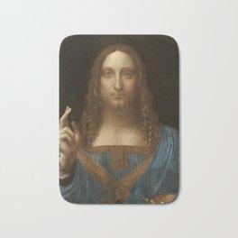 Price Slashed on 450M Leonardo da Vinci Salvator Mundi Bath Mat