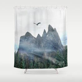 Mountains 13 Shower Curtain