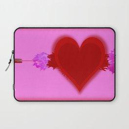 Heart Series Love Speeding bullets 2 Laptop Sleeve