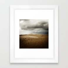 Tempête de Sable Framed Art Print