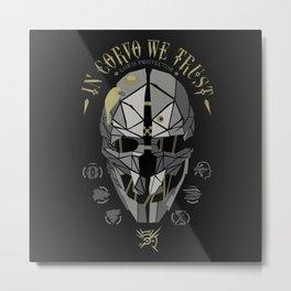 In Corvo We Trust v2 Metal Print
