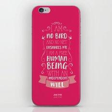Jane Eyre iPhone & iPod Skin