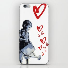 Urban Street Art: Banksy-Style Graffiti Stencil iPhone Skin