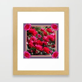 Essence of Roses Framed Art Print