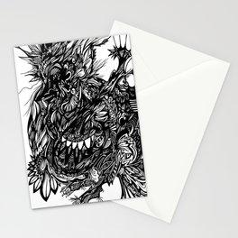 Bird Scrawl Stationery Cards