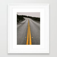 striped Framed Art Prints featuring striped by Monica Ortel ❖