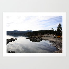 Tahoe Vista Art Print