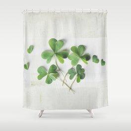 Shamrock Family Shower Curtain