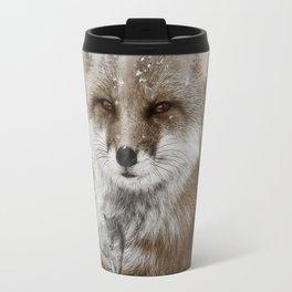 Fox Stare Travel Mug