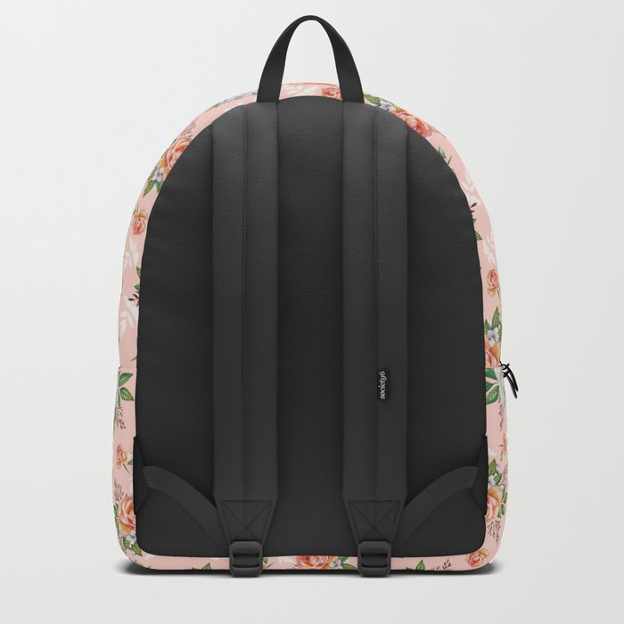 Watercolor roses Backpack