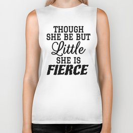Little & Fierce Biker Tank