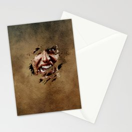 Vampire Screaming Stationery Cards