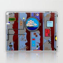 A Nautical Style Below Deck Port Hole Laptop & iPad Skin