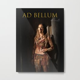 Lexa Ad Bellum Metal Print