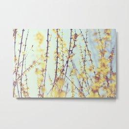 Yellow Daydreams Metal Print