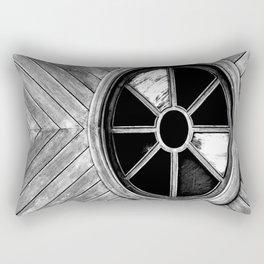Wooden Eye Rectangular Pillow