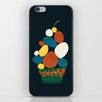 dessert iPhone & iPod Skins featuring Dessert by Picomodi