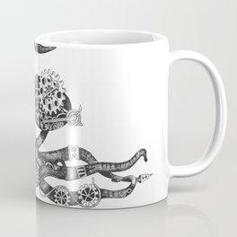 Fletcher the Steampunk Octopus Coffee Mug
