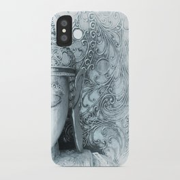 Fade to White Budda iPhone Case