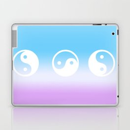 yin yang Laptop & iPad Skin