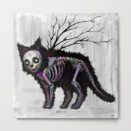 Lost kitty Metal Print