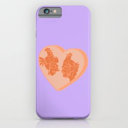 Fry & Leela Sweetheart iPhone Case