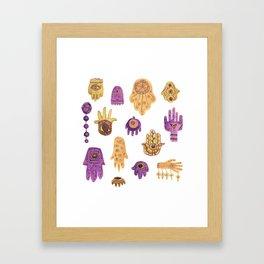 Hamsa Hamsa Hamsa Framed Art Print