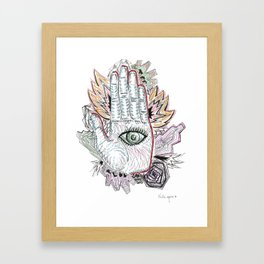 Handeye Framed Art Print