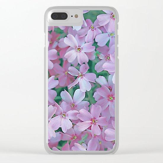 Flower Carpet(63) Clear iPhone Case