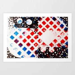 Math Series,four Art Print