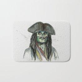 Captain Jack Zombie Bath Mat
