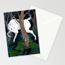 Daniel Boone's Deer Stationery Cards