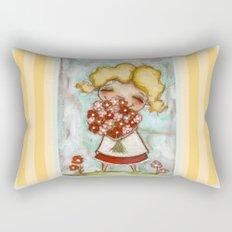 Smells like Spring - by Diane Duda Rectangular Pillow