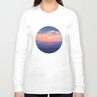 tennessee Long Sleeve T-shirts featuring Sunset in Tennessee by GF Fine Art Photography