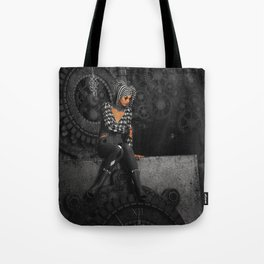The Time Runs Off Tote Bag