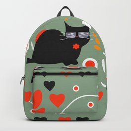 Romantic cats Backpack