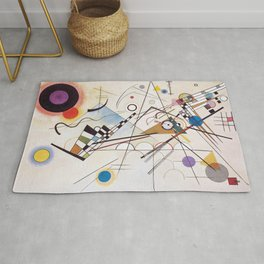 Original Composition VIII by Wassily Kandinsky Rug