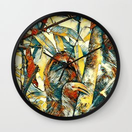 AnimalArt_Sloth_20171204_by_JAMColorsSpecial Wall Clock