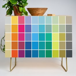 Colorful Soul - All colors together Credenza