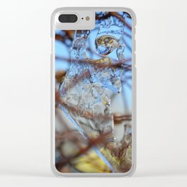 Tangled Landscape #1 Clear iPhone Case