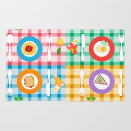 dining table Rug