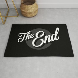 The End Vintage Cinema Rug