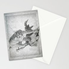 Bobcat in the Woods Stationery Cards