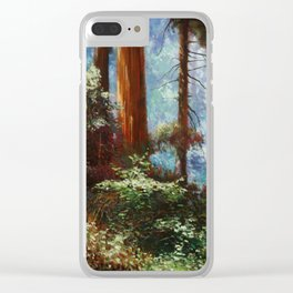 The Forrest Through the Trees Clear iPhone Case