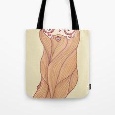 Bear Beard Tote Bag