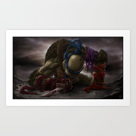 LEONARDO goodbye, my brothers... Art Print