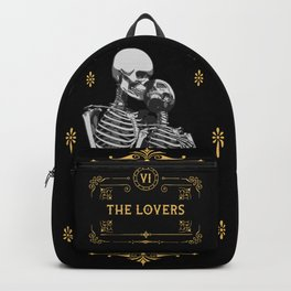 The Lovers VI Tarot Card Backpack