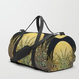 """Golden aloe Zebra midnight sun"" Duffle Bag"