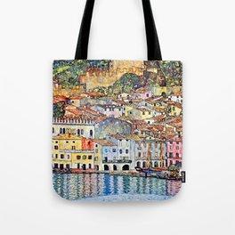 Gustav Klimt Malcesine on Lake Garda Tote Bag